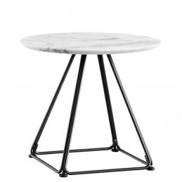 Pied de table basse Lunar Pedrali acier laqué