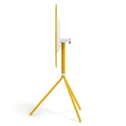 Pied de table colonne Nolita CMP Design Pedrali acier laqué tripode