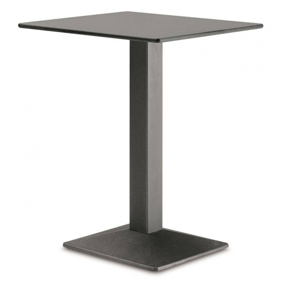 Pied de table colonne Quadra Pedrali carrée acier