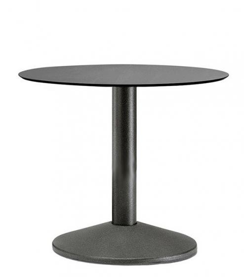 Pied de table basse Tonda Pedrali ronde acier inox