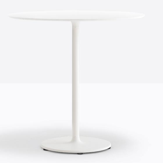 Pied de table colonne Stylus Pedrali ronde carrée