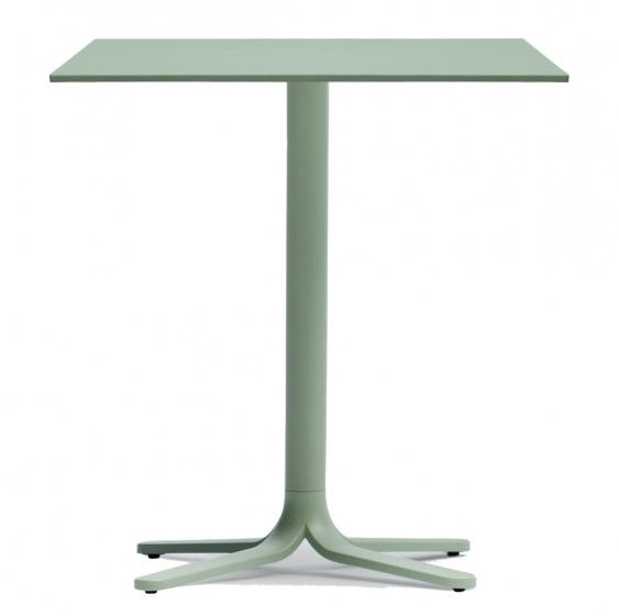 Pied De Table Colonne Fluxo Pedrali Aluminium Poli Epoxy Cafe Bar