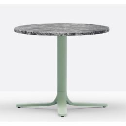 Pied de table basse Fluxo Pedrali aluminium