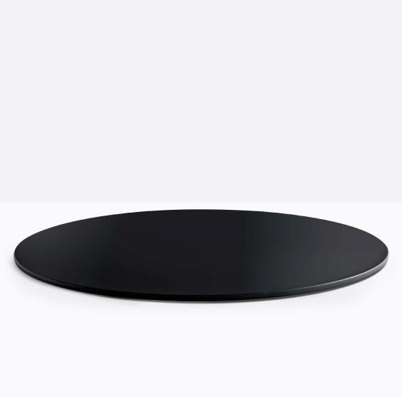 Plateau de table Fenix Pedrali multiplis noir