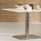 Plateau de table Compact tout blanc Pedrali
