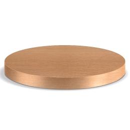 Plateau de table plaqué chêne Pedrali mdf bois