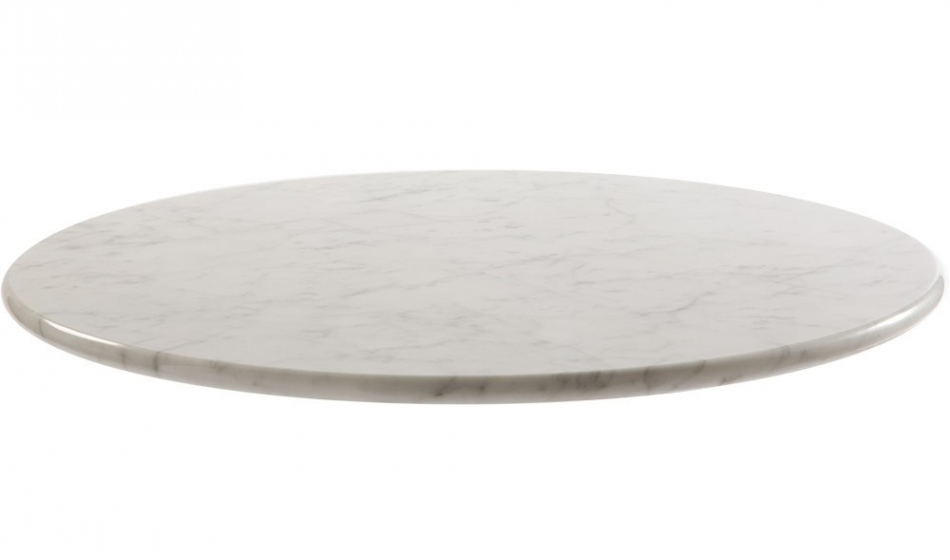 Plateau de table Marbre blanc Carrare Pedrali