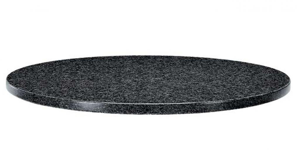Plateau de table Granit pedrali biseauté droit plat