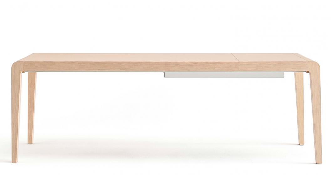 Table 4 pieds Exteso Pedrali rectangulaire rallonge