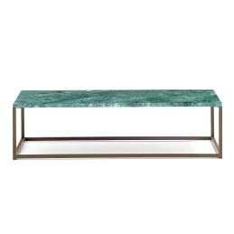 Table basse Code Pedrali acier marbre