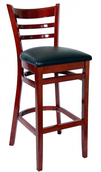 Chaise haute Jack bois hetre garnie