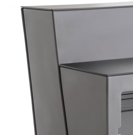 Comptoir de bar Oblique soft Pedrali design capitonné
