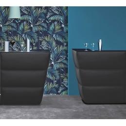 Comptoir de bar Oblique soft Pedrali angle design capitonné