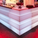 Comptoir bar Tetris Corner Claudio Dondoli Marco Pocci Pedrali