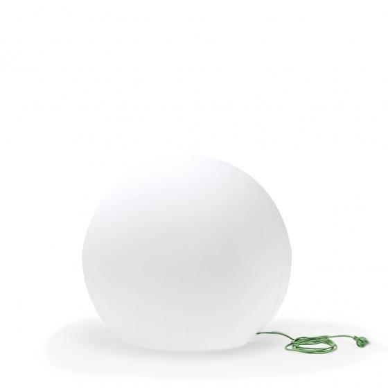 Lampes à poser sphère Happy apple Pedrali éclairage blanc extérieur