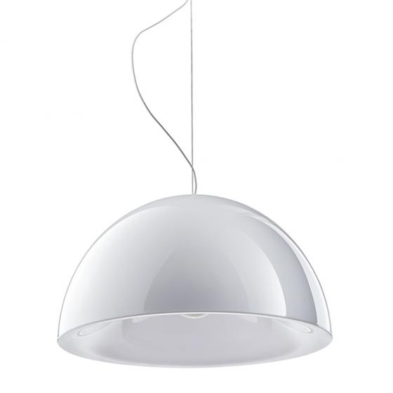 Suspension design L002S Pedrali lampe blanc noir rouge jaune transparent
