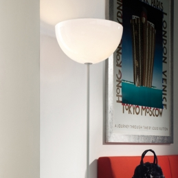 Lampadaire L002ST blanc noir Basaglia Pedrali design Lampe ambiance