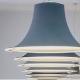 Suspensions L004S Lampe cuivre noir beige gris design câble rosace