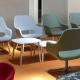Fauteuil lounge Babila Comfort Pedrali Aluminium garni pivotant promo