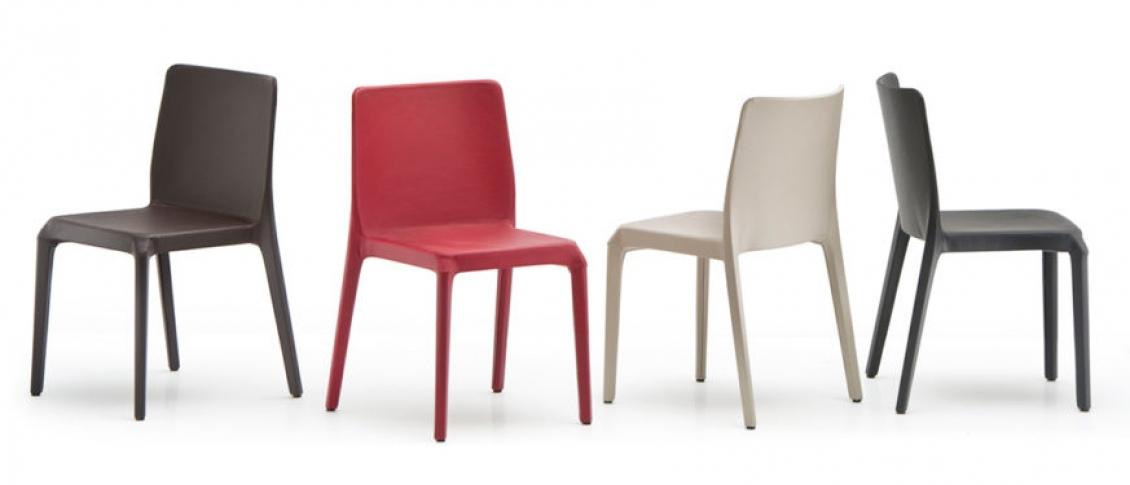 Chaise Blitz Pedrali garnie promo hotel polycarbonate plaza mobilier