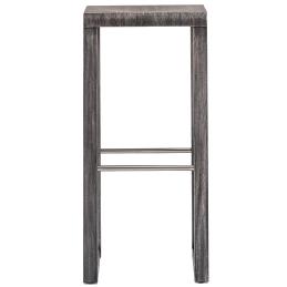 Tabouret Brera Pedrali bois chenê acier inoxydable mobilier promo