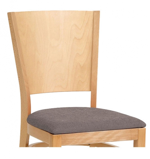 Chaise Jacob bois garnie