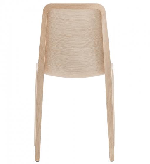 Chaise Frida Odo Fioravanti Pedrali teinte chene bois ergonomique