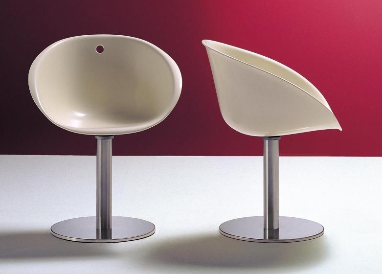 Fauteuil Gliss pedrali acier pivotant réglable plaza mobilier