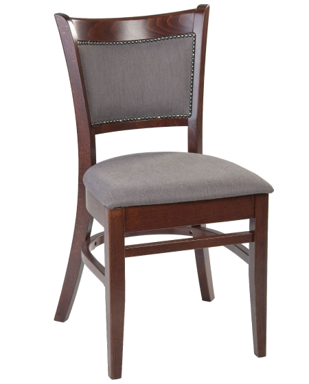 chaise Jad bois hetre garnie