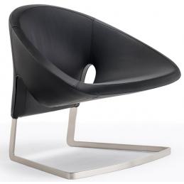 Joker Pedrali Design Roberto Semprini fauteuil lounge acier inox