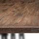 plateau de table antiquaire antik vintage pin massif vieilli martelé