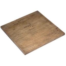 plateau de table antiquaire antik vintage pin massif vieilli martelé plateau de table vieilli rustique