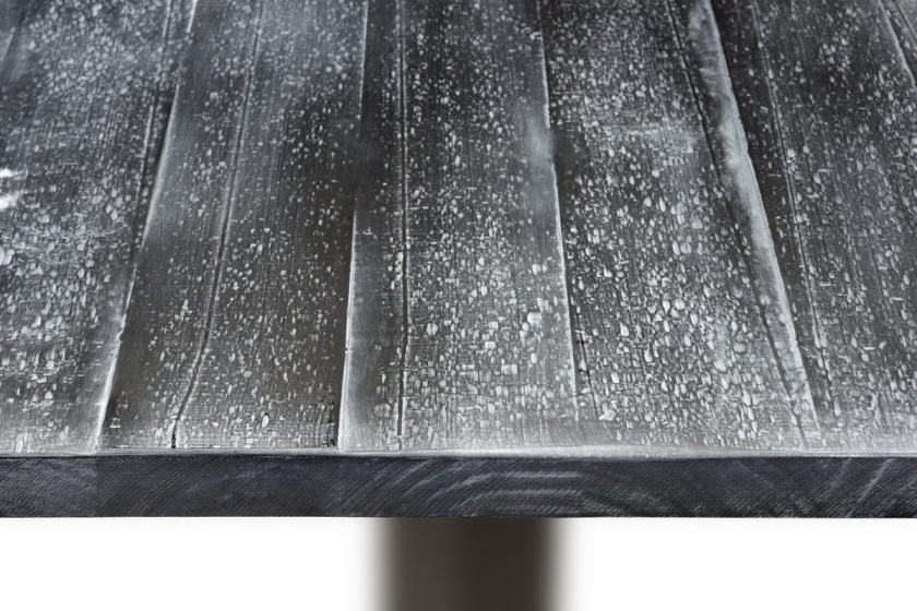 Vintage Plateau de table patiné Tradition style ancien ambiances coloniales plateau carré plateau rectangulaire plateau rond