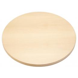 Plateau de table Classique plaqué bois noyer bois olivier chêne rustique ou laqué effet relief sciage