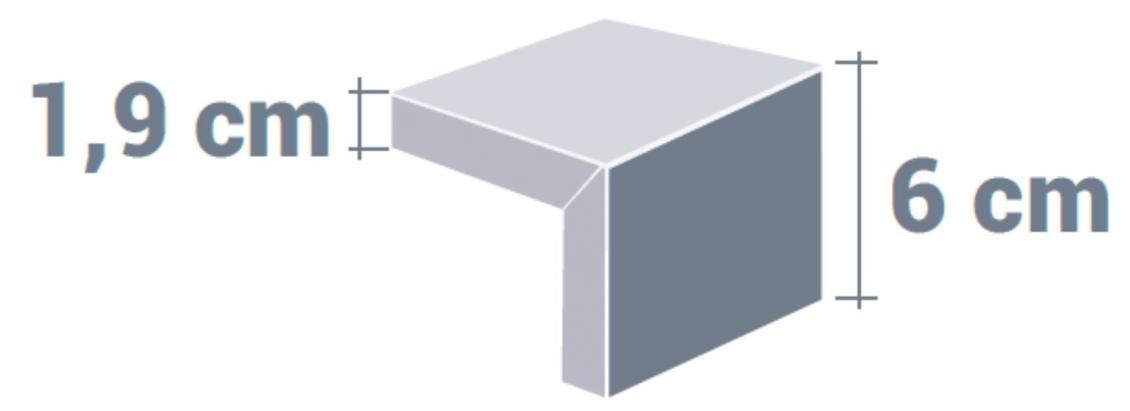Plateau de table épais design relief lignes droites avec une épaisseur 6 cm plaqué bois