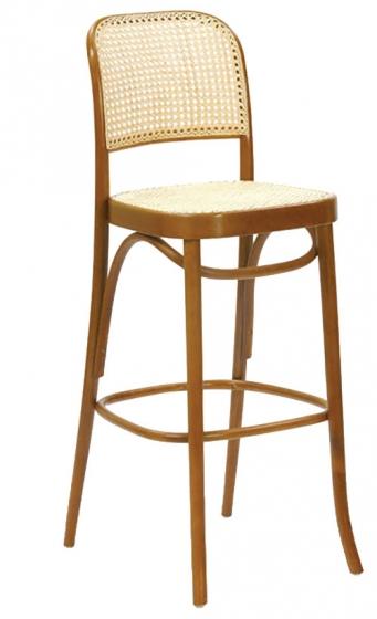 Chaise haute Benko bois courbé