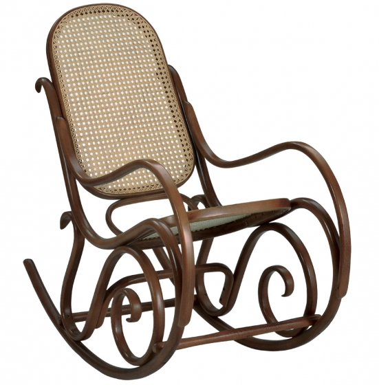 Rocking chair Benko bois courbé hetre