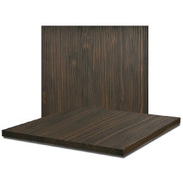 PLATEAU de table rustique SAND VISON PIN MASSIF VIEILLI SABLÉ vauzelle plateau Relief plateau de table effet vieilli gris