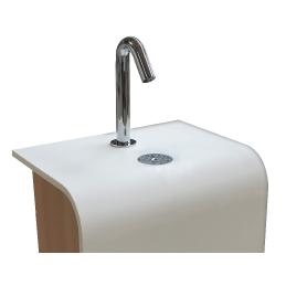 distributeur-automatique-de-savon-hydro-alcoolique-desinfectant-sans-contacts-Gel express- totem