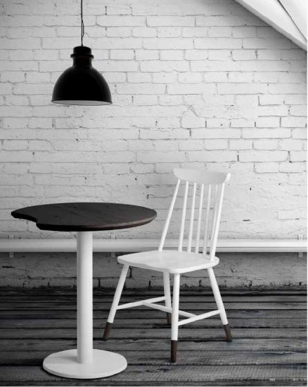 Table modulable complète luna Plateau circulaire bois plateau emboite table ronde bois modulable