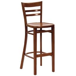 Chaise haute Cieme II bois garnie