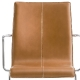 Fauteuil kuadra Pedrali cuir tissu garni collectivité chaise contact empilable hotel promo