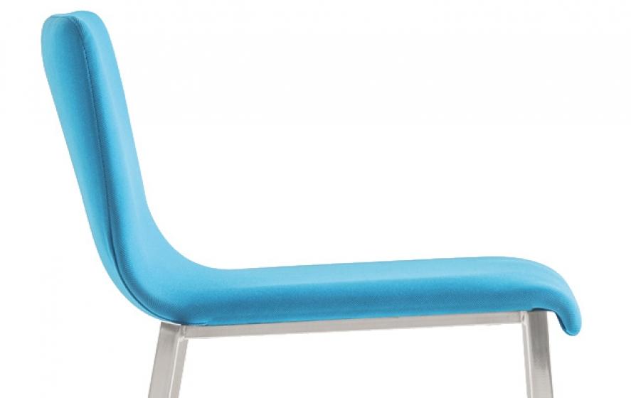 achat Kuadra Pedrali tabouret design acir tissu cuir mobilier promo