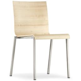 kuadra XL pedrali design multiplis chaise inox empilable achat promo