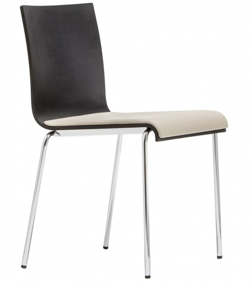 kuadra xl pedrali design cp chêne chaise inox mobilier empilable achat