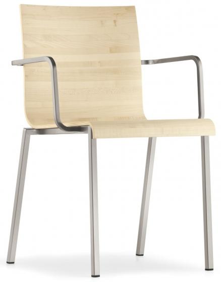 kuadra pedrali design fauteuil multiplis chene mobilier empilable chaise réunion collectivité contract