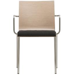 kuadra pedrali design fauteuil multiplis chene mobilier empilable chaise évènement hôtel collectivité