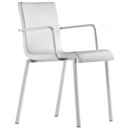 kuadra pedrali design fauteuil cuir tissu mobilier empilable promo chaise réunion collectivité