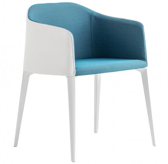 achat pedrali laja 885 fauteuil plaza mobilier acier cuir tissu promo fauteuil confortable fabrication italienne