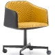 achat pedrali laja 886 fauteuil plaza mobilier acier cuir tissu promo fauteuil bureau confortable roulette jaune bleu